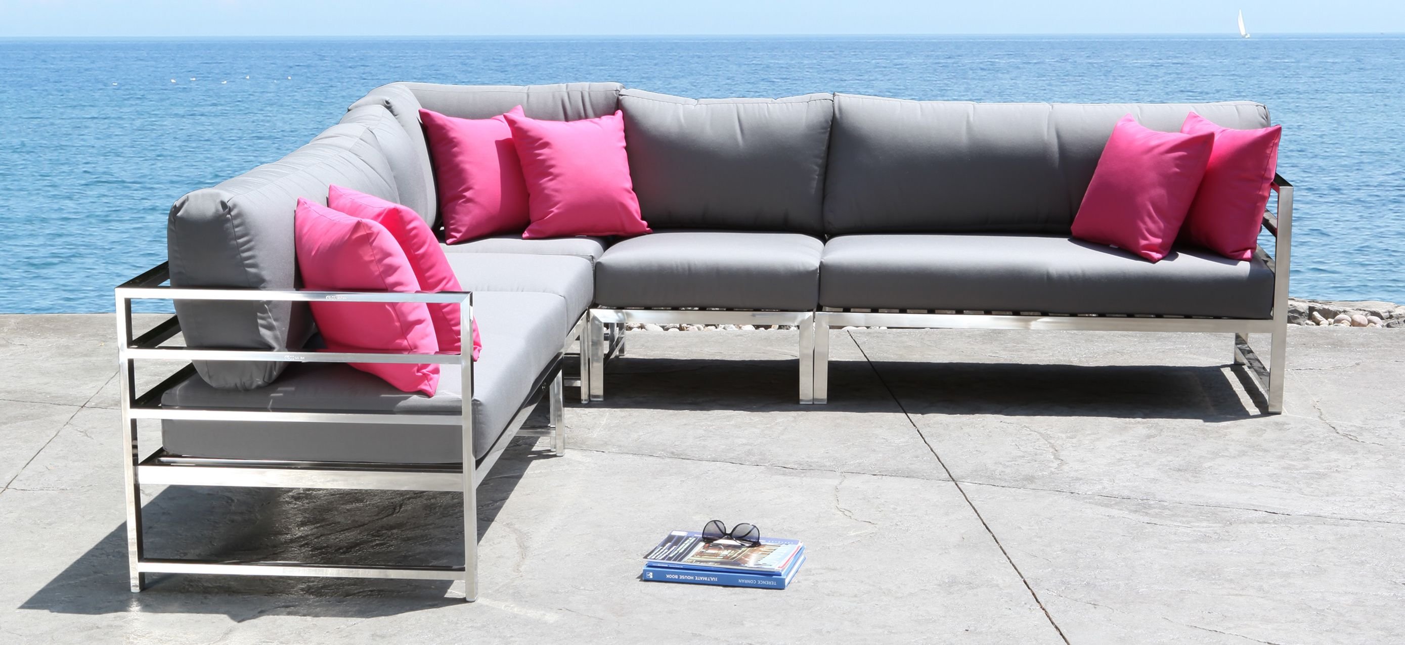Soho mercial Grade Stainless Steel Patio Furniture Outdoor