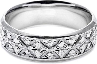 Tacori Mens Wedding Band With Hand Engraved Scroll Work 7 0mm Mens Wedding Bands Mens Wedding Rings Wedding Ring Designs