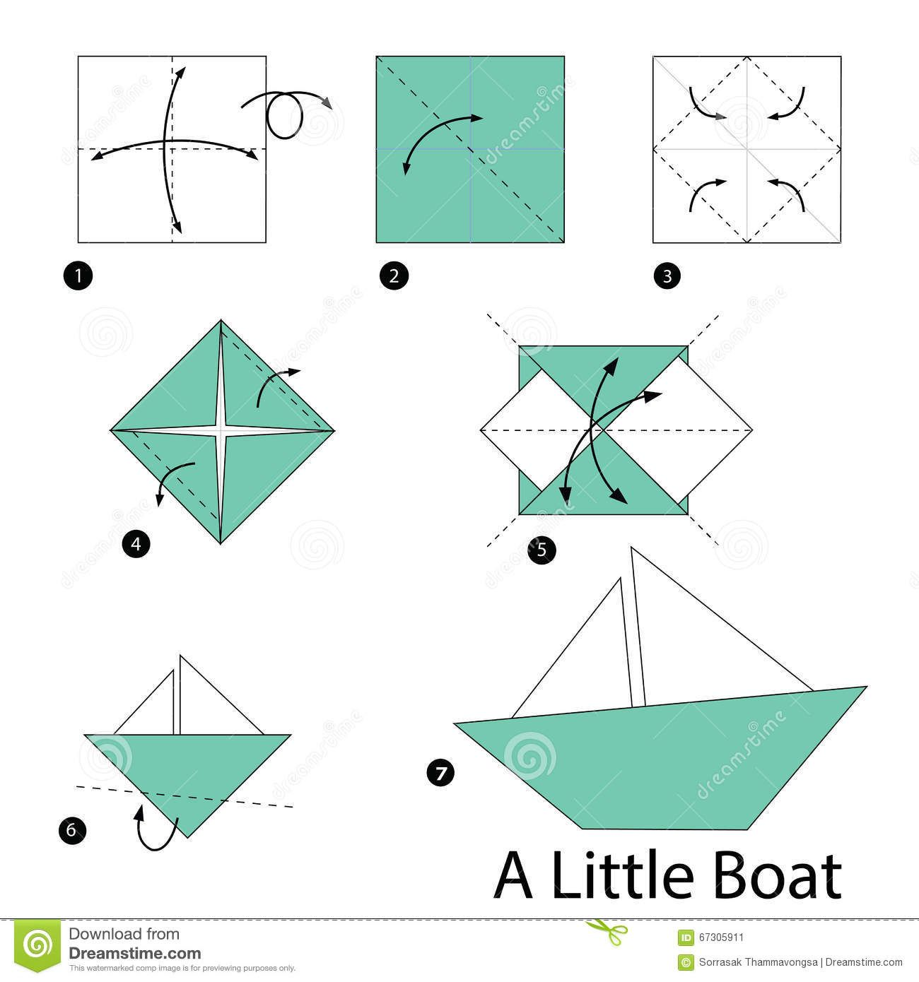 Papier Dampfer Falten Step Step Making Origami - - Yahoo Image Search Results