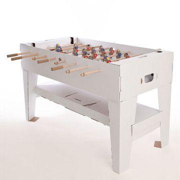 Kartoni Football Table White