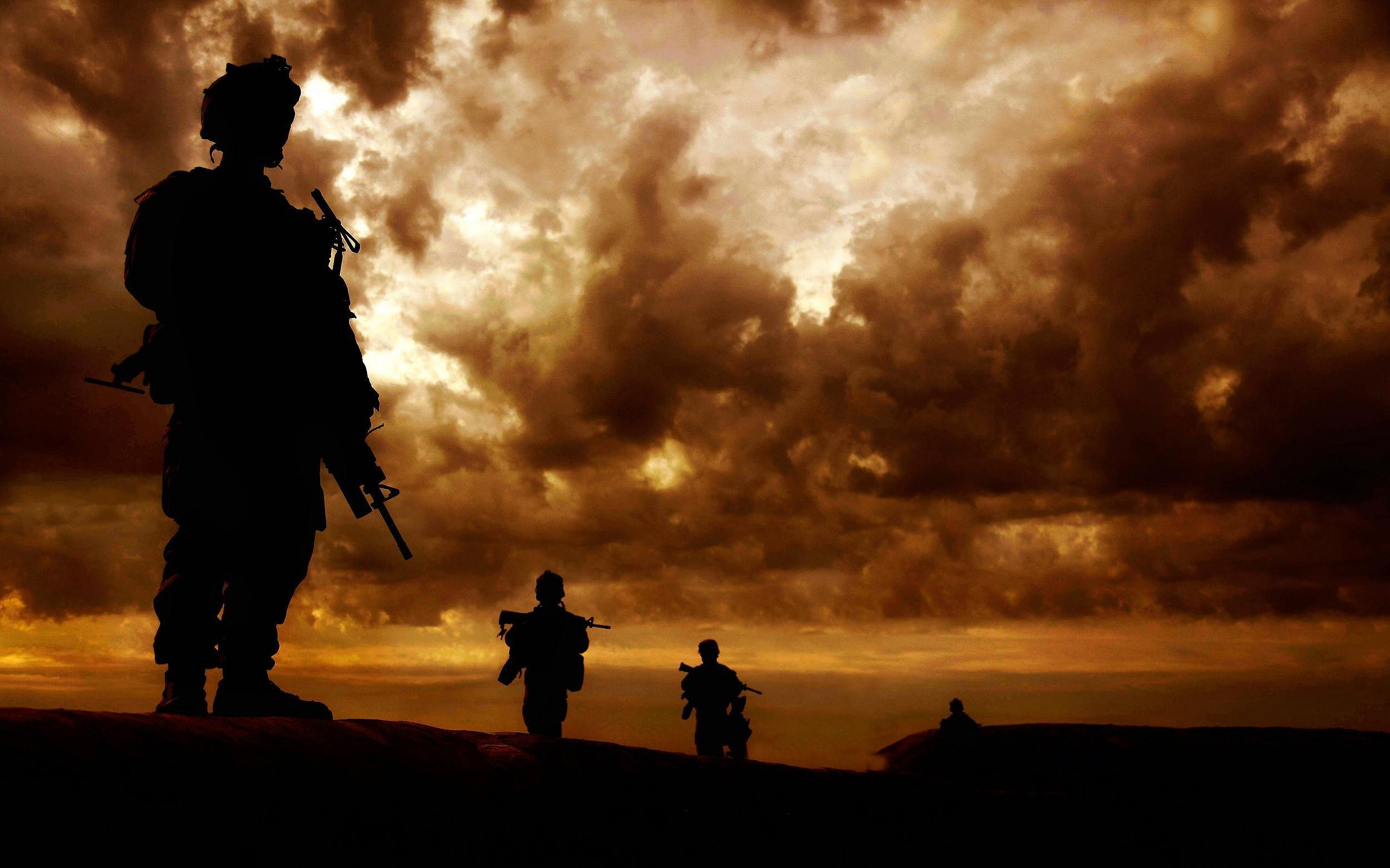 American Soldier Wallpaper Military