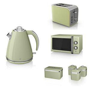 new swan kitchen appliance retro set  u2013 green microwave 1 5l jug kettle 2 new swan kitchen appliance retro set  u2013 green microwave 1 5l jug      rh   pinterest com
