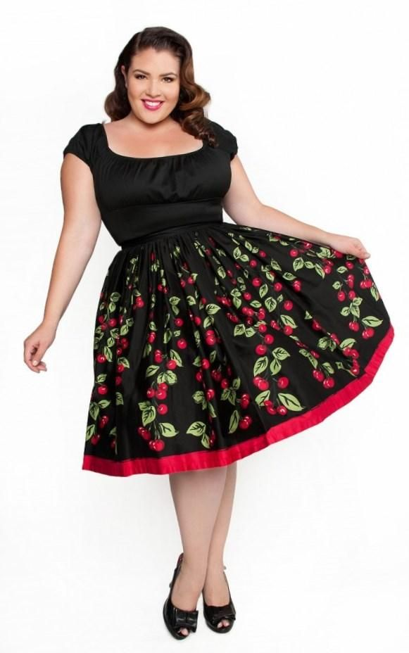 326f49114f0 Pencil Skirt in Leopard From Pinup Girl Clothing. Plus Size Fashion ...