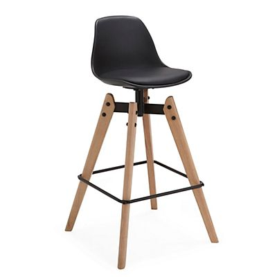 tabouret de bar fixe noir tabouret pinterest tabourets de bar tabouret et fixe. Black Bedroom Furniture Sets. Home Design Ideas