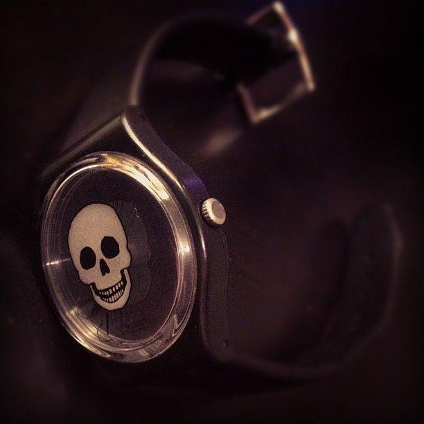 #swatch #skull #skullfashion #fashion