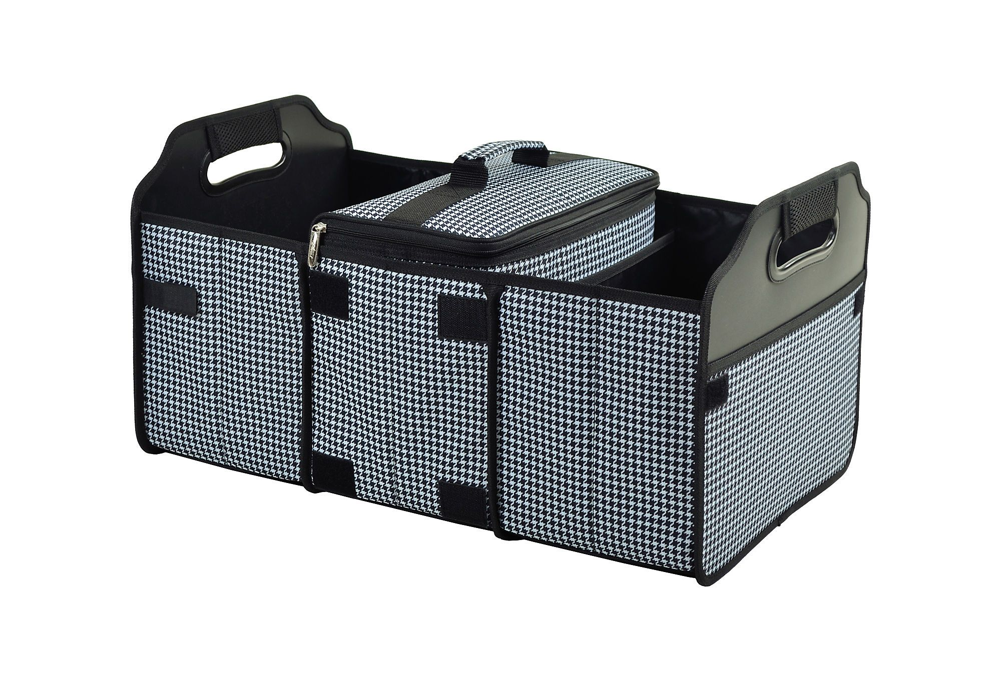 Trunk Organizer And Cooler Black White Trunk Organization Folding Trunk Organizer Organization