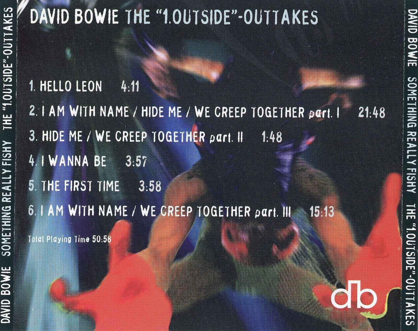David Bowie Something Really Fishy 1 Outside Outtakes David Bowie The Outsiders Bowie