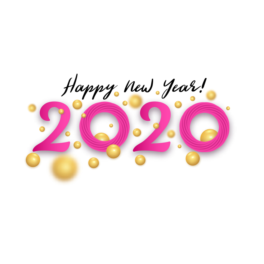 Happy New Year Day 2020 Wallpapers Happy New Years Eve Happy New Year Wallpaper Happy New Year Images