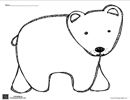 Image Result For Bear Templates To Cut Out