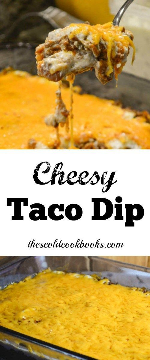 Cheesy Taco Dip Recipe with Ground Beef and Sour Cream