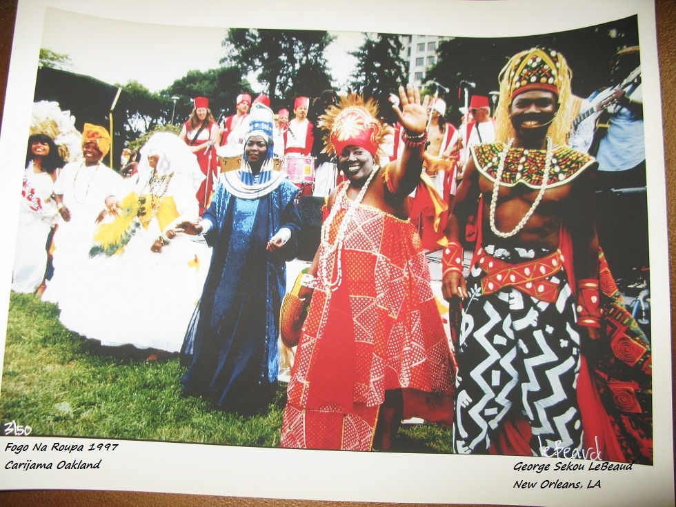 nzoCALIFA: Carnavalesca - Program Manager: Costume design: 1997 Fogo Na Roupa @Carijama Oakland & Carnaval San Francisco