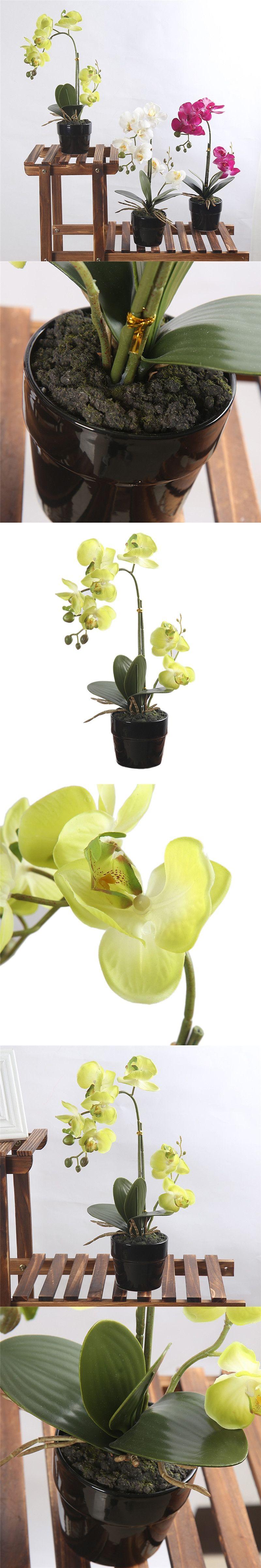 Wedding decorations home  Artificial Bonsai Decoration Simulation Phalaenopsis for Home