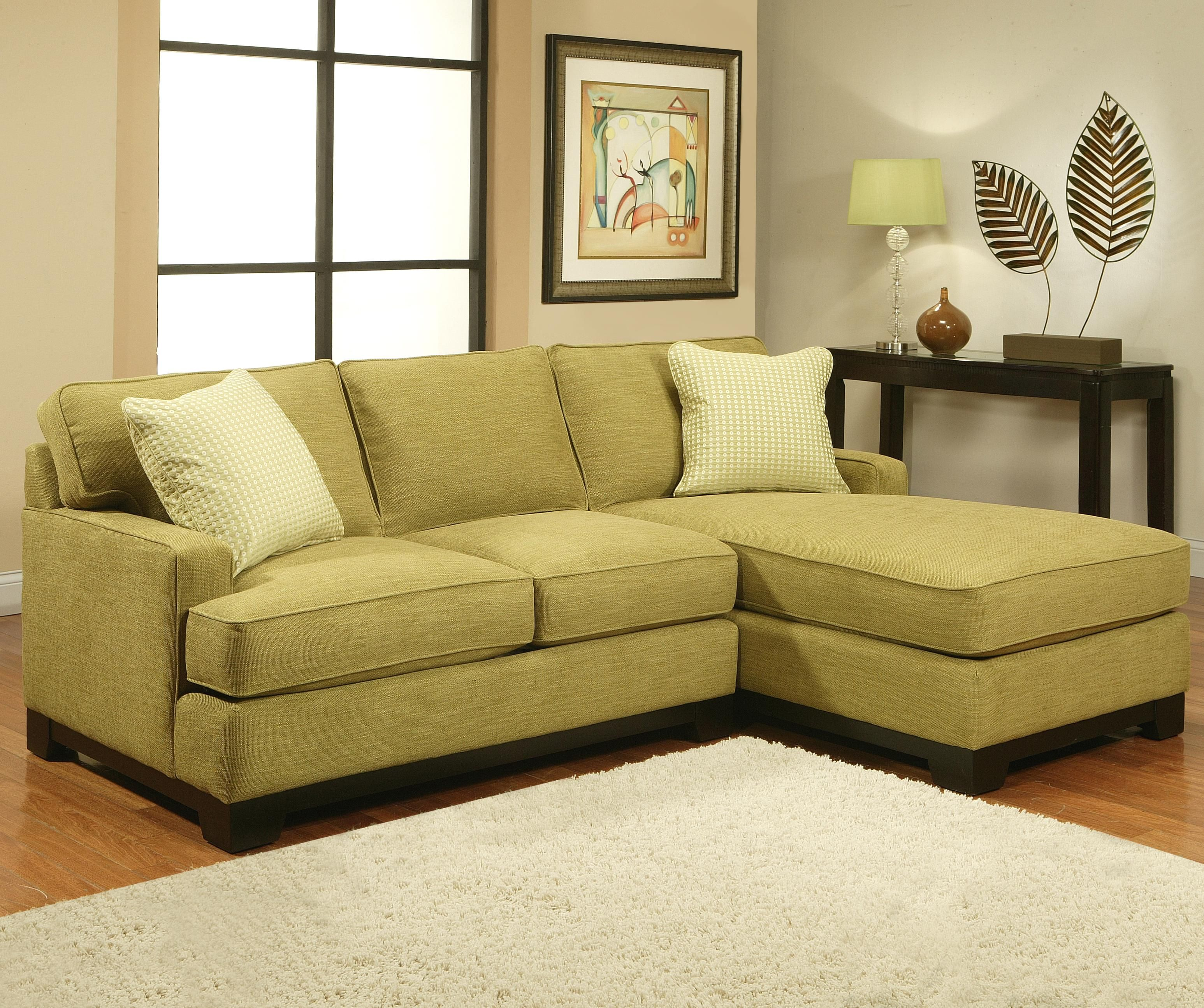 Choices Kronos Contemporary Sectional Sofa with Track Arms by