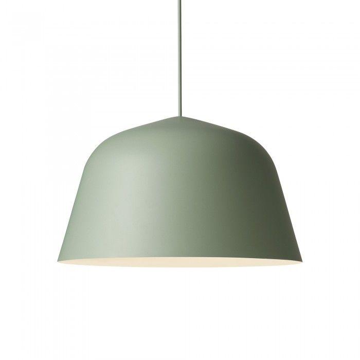 Lampe AMBIT en aluminium mat de fabrication artisanale. Toucher doux.