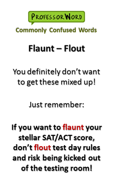 High Quality Flout: You Definitely Donu0027t Want To Confuse These Two Vocabulary