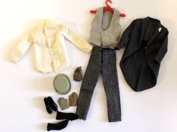 Vintage Ken Doll Here Comes The Groom Complete Outfit 1966 1426 Complete Outfits Fashion Through The Decades Outfits