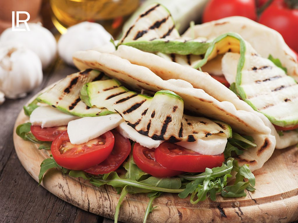 Gemeng gevuld Turks Brood