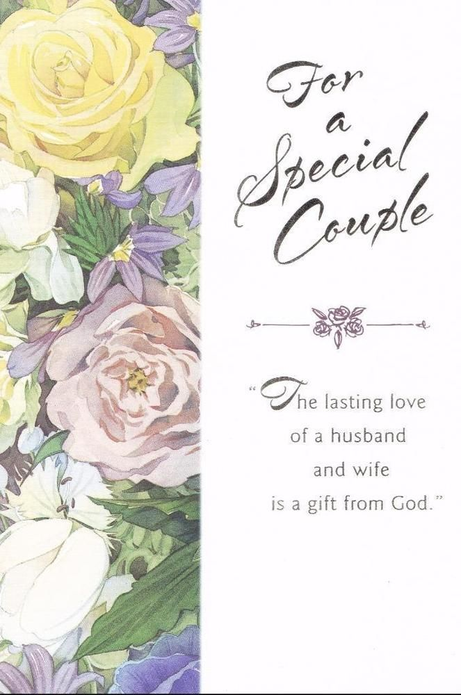 Details about christian greeting card anniversary for a special details about christian greeting card anniversary for a special couple m4hsunfo