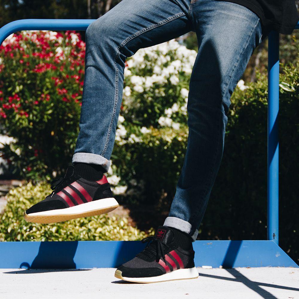 finest selection 49216 f0fd4 Adidas Originals I-5923 B37946 - Black Burgundy