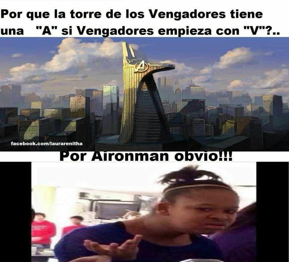 Por Avengers Vengadores En Ingles Xdxdxd V Memes Divertidos Memes Marvel Avengers Divertidos