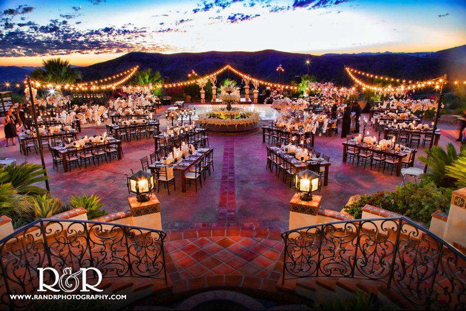 Hummingbird Nest Ranch | The Venue/Aisle/Reception | Hacienda