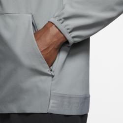 Photo of Nike Flex Full Zip Training Hoodie for Men – Gray Nike