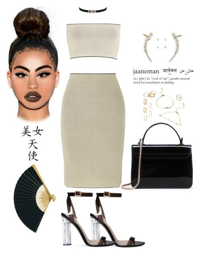 """China Love "" by mrkr-lawson ❤ liked on Polyvore featuring Calvin Klein Collection, Forever 21, River Island, Charlotte Russe, Lime Crime and Cultural Intrigue"