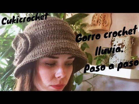 DIY: Cloche hat (Crochet Tutorial) - YouTube | Croșetat | Pinterest ...