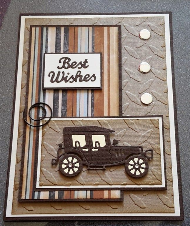 Pin by Alana Nielson on cards | Masculine cards, Birthday ...