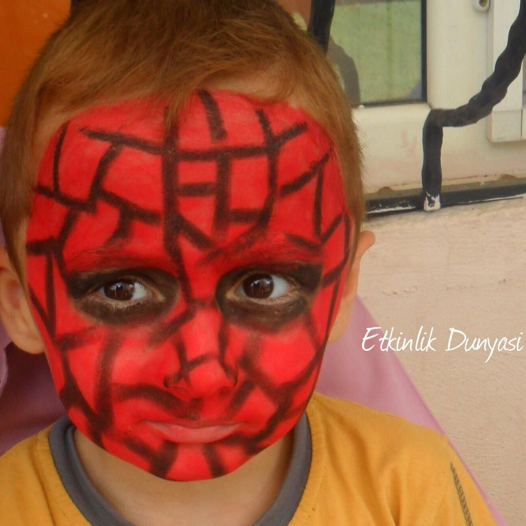 Etkinlik Dunyasi On Instagram Preschool Preschoolactvty Art Facepaint Facepainting Spiderman Activityworld Okuloncesi O In 2020 Fictional Characters Character Joker