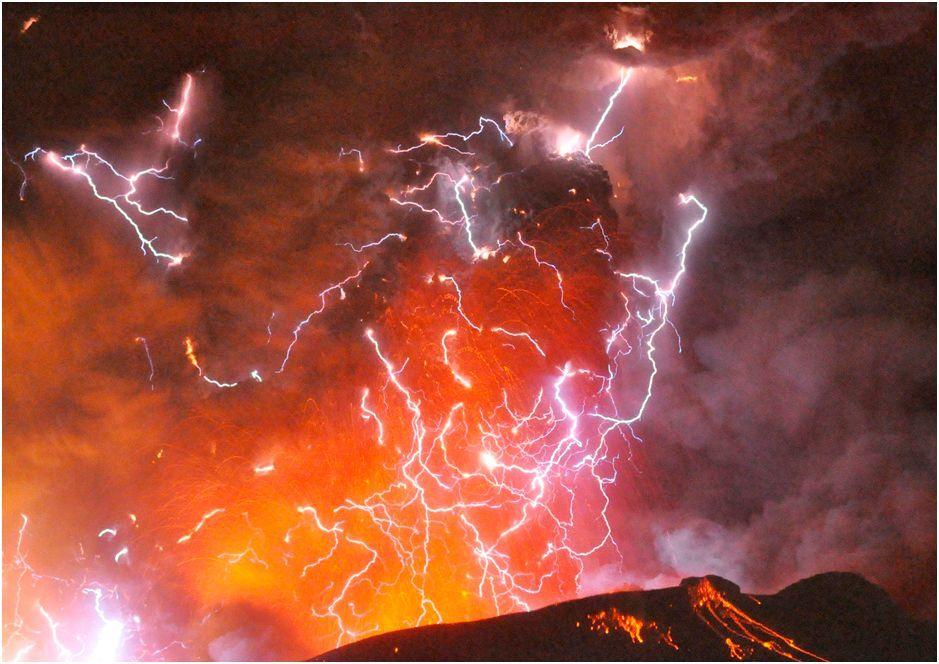Volcano-Volcanic Thunderstorm