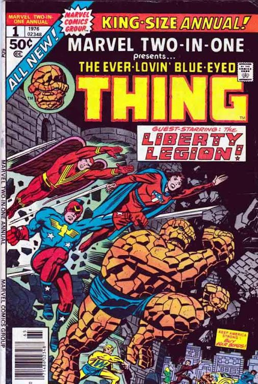 Comic Book Cover Artist Jobs ~ Marvel two in one king size annual june jack