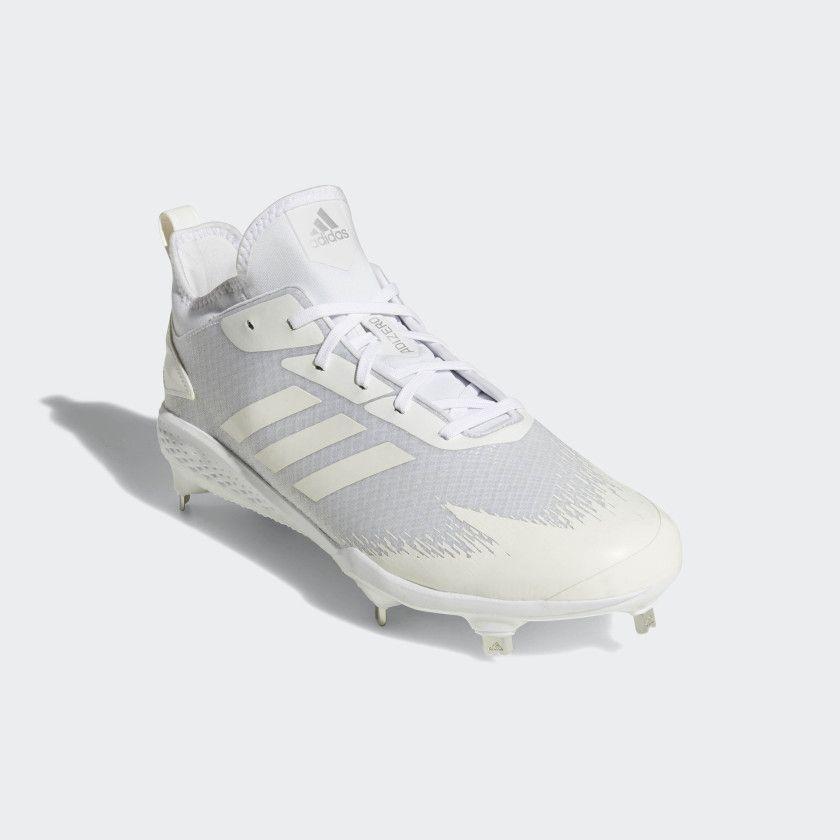 white adizero baseball cleats