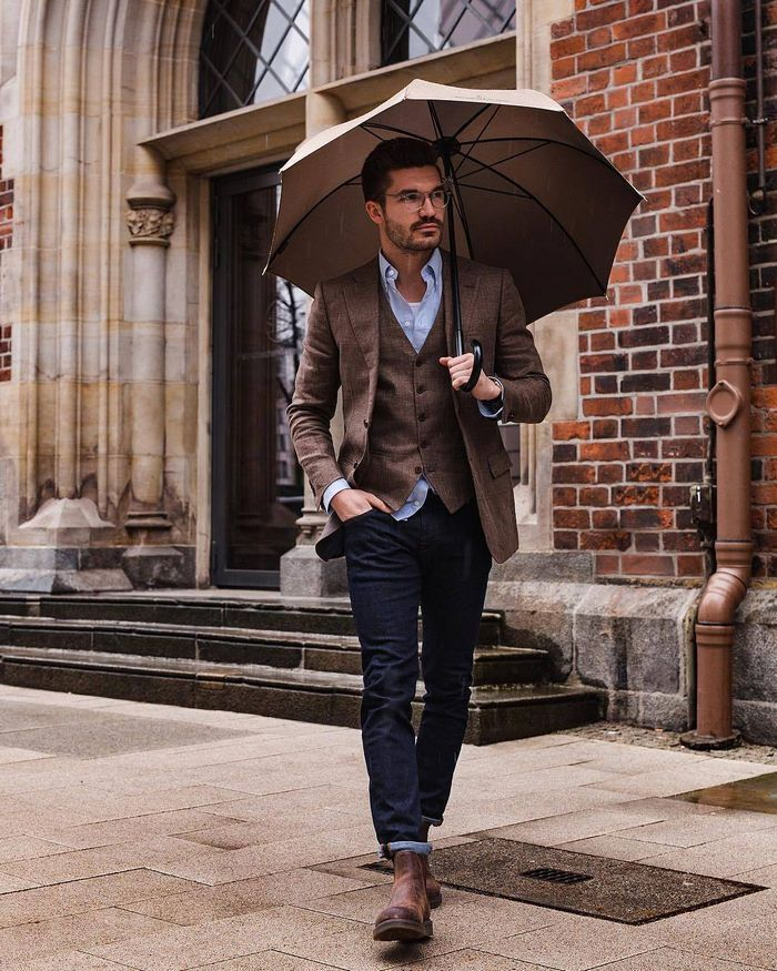 Fall Wedding Outfit Ideas For Male Guests. The Young