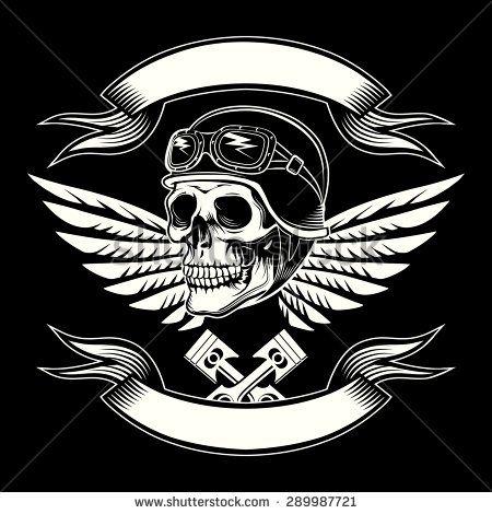 bikers skull logo - photo #7