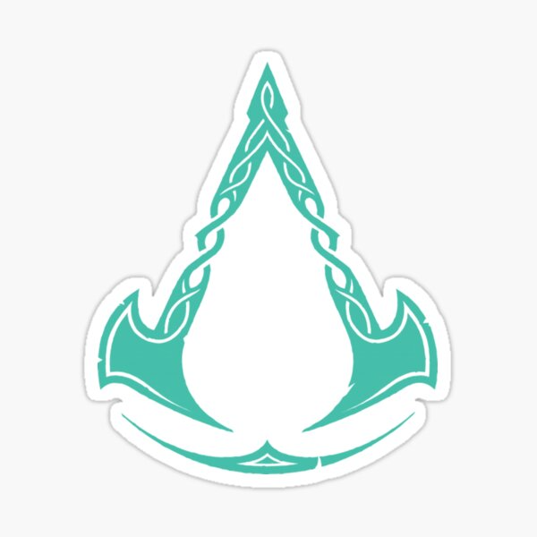 Assassins Creed Valhalla Cover Game Ac Valhalla Sticker By D Emperorlight Redbubble Assassins Creed Creed Assassin