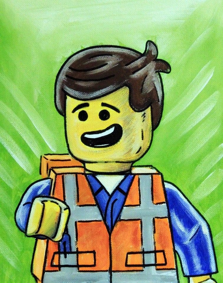 Emmet - Lego Movie by MSG Imaging on Crated