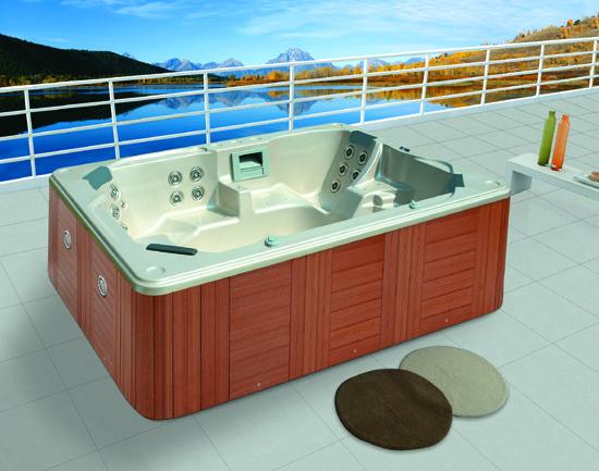 Monalisa M 3319 Outdoor Massage Spa Hot Tub 6 Seats Whirlpool Hydro Spa Bathtub For Adults Popular Bathtub Spa Hottub Dimension 3100 2300 970mm