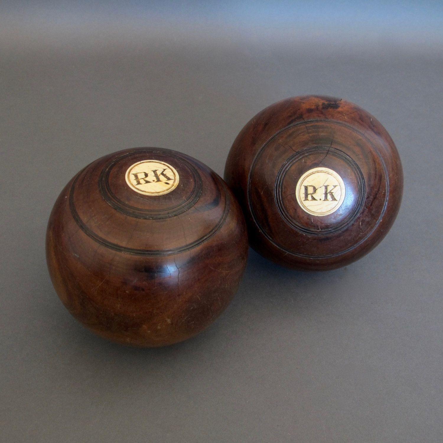 Pair of vintage lawn bowls from england lignum vitae lawn bowl pair of vintage lawn bowls from england lignum vitae lawn bowl vintage bowling ball by fanshaweblaine on etsy sporty vintage pinterest lawn geenschuldenfo Choice Image
