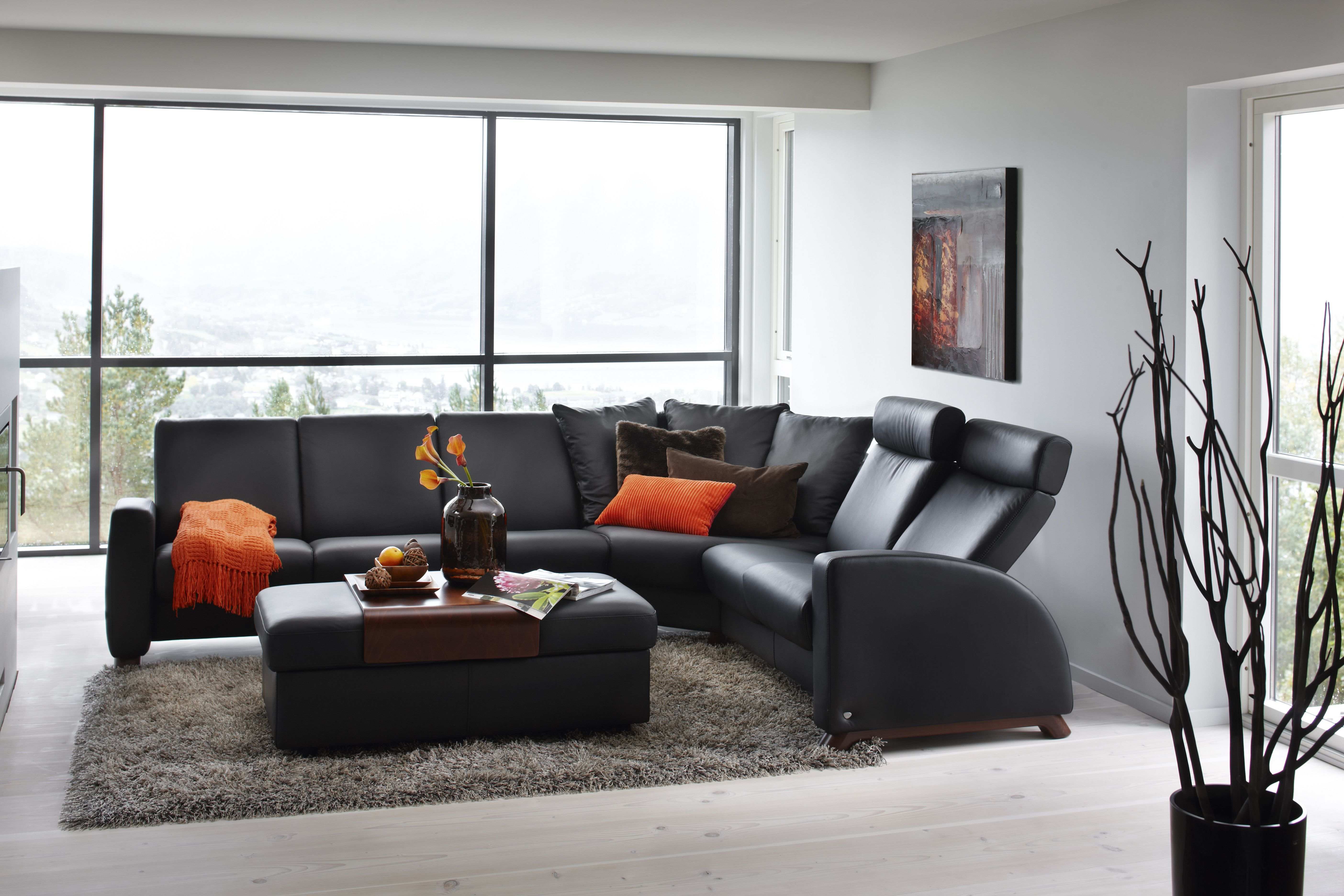 Stressless Kino Pops Of Clementine Stressless Stressless Furniture Reclining