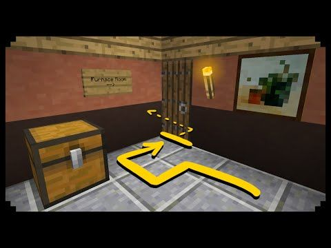 How To Make A Secret Bookcase Entrance In Minecraft Xbox Youtube Minecraft Minecraft Designs Minecraft Tutorial