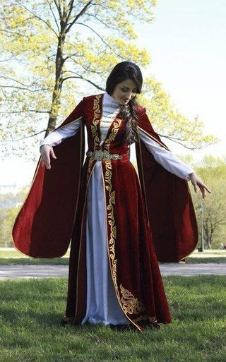 Chechen folk dress