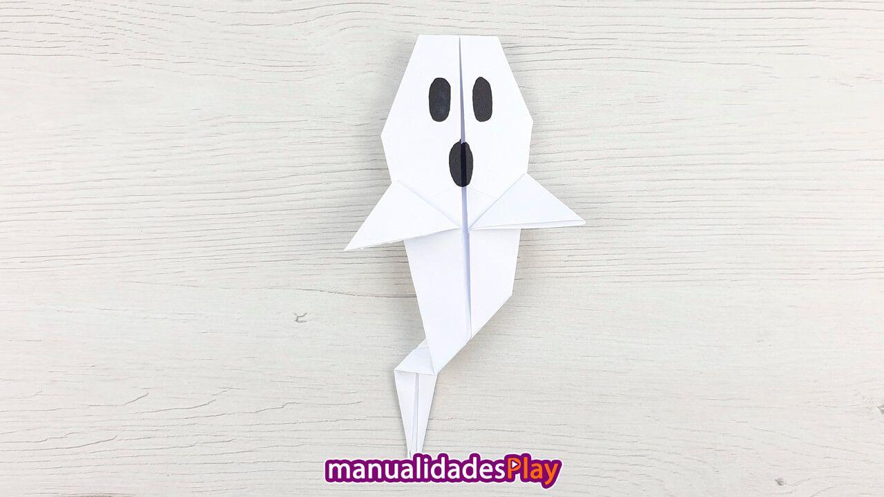 Fantasma Halloween Manualidades Fáciles Con Papel Para Niños Como Hacer Un Fantasma Manualidades Fantasmas De Halloween