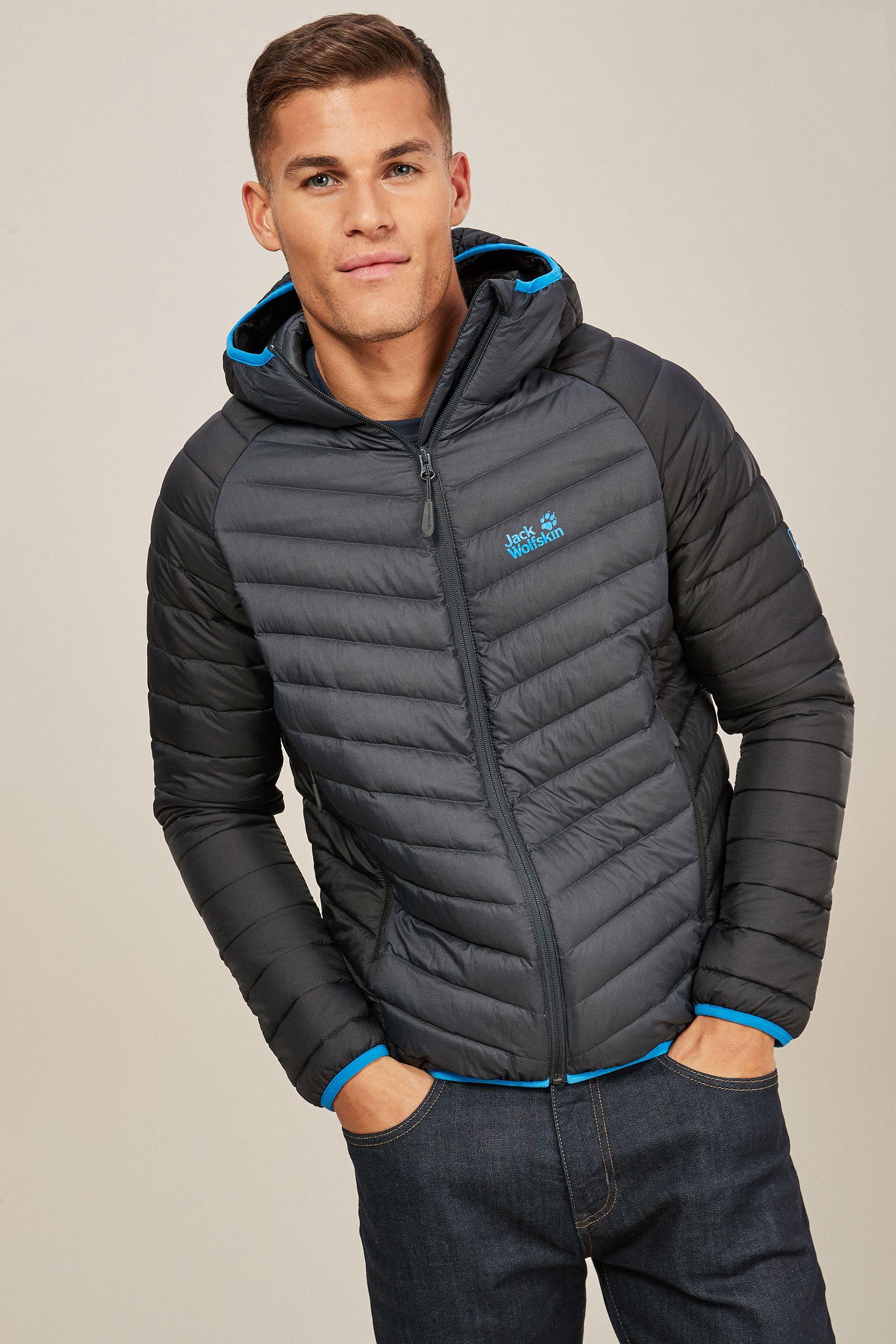 różnie świetne oferty sprzedaż online Mens Jack Wolfskin Zenon Storm Jacket - Grey | Products ...