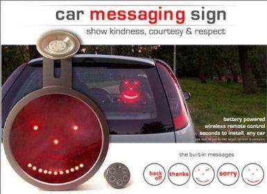 Amazon.com: Drivemocion LED Car Sign: Toys & Games