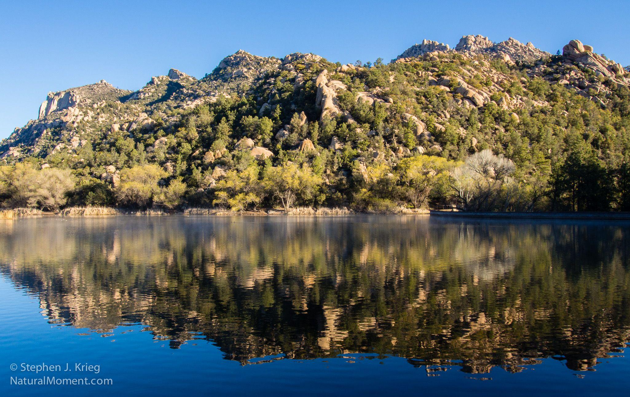 Granite Basin Lake Prescott National Forest Colorado Plateau