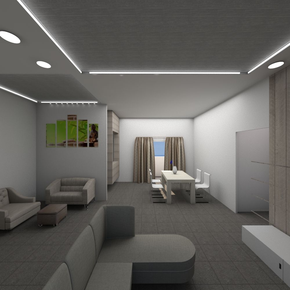 Interior hall and dining rooms design ceiling for bhk house also  likes the lights closet doors but he wants full length mirrors rh pinterest