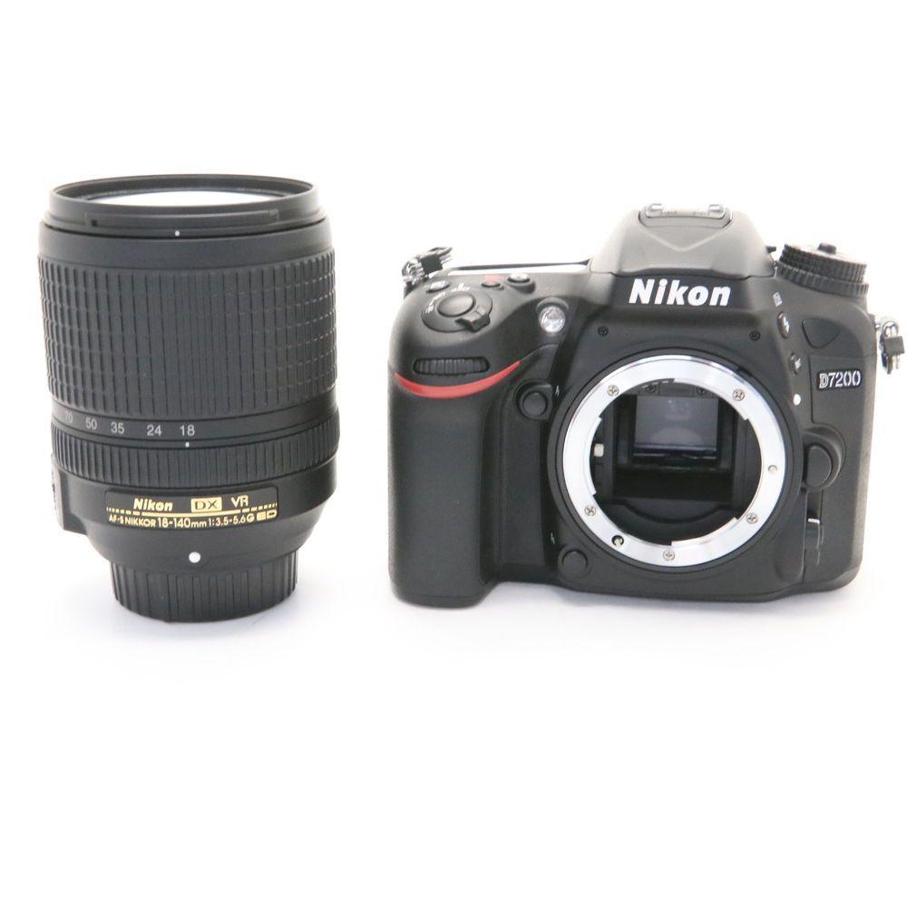 Nikon D7200 18 140 Vr Lens Kit Near Mint Nikon D7200 Lens Bag Vr Lens