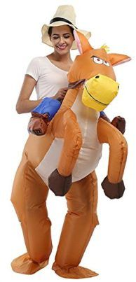 Inflatable Rider Costume Fancy Dress Funny Horse Cowboy Funny Suit Mount For Kids Adult Tag someone  sc 1 st  Pinterest & Inflatable Rider Costume Fancy Dress Funny Horse Cowboy Funny Suit ...