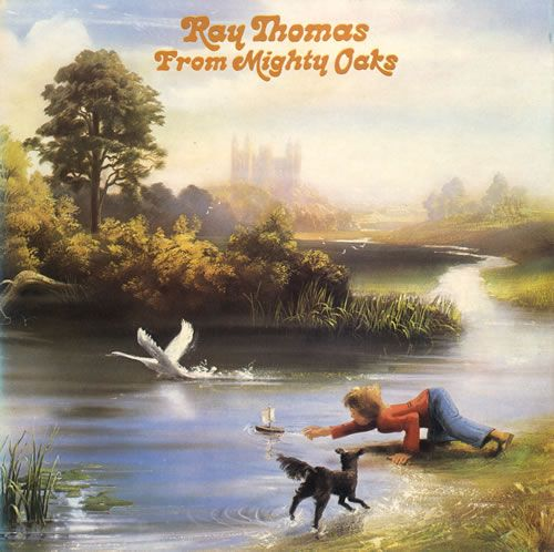 1975 Ray Thomas - From Mighty Oaks [Threshold THS16] artwork: Phil Travers #albumcover #illustration